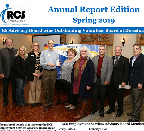 Annual Report Edition Spring 2019